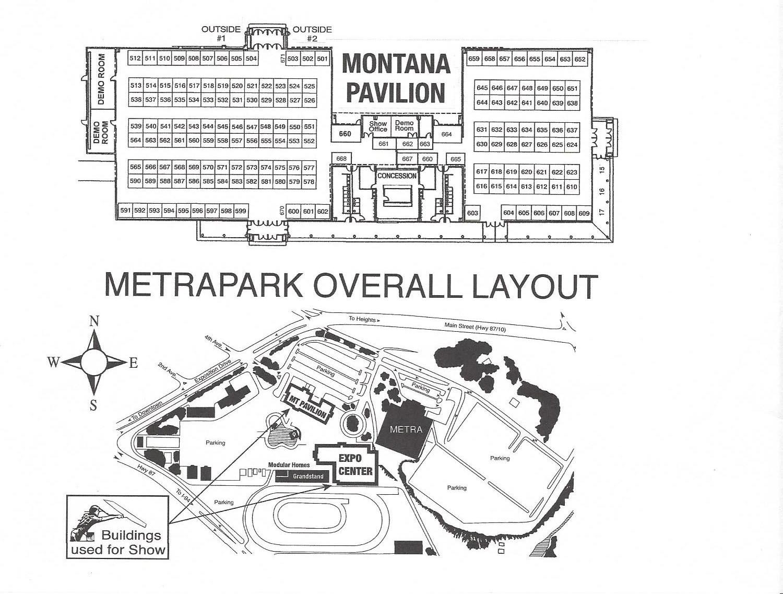 Floor Plan / Pricing - Billings Montana Home Improvement Show